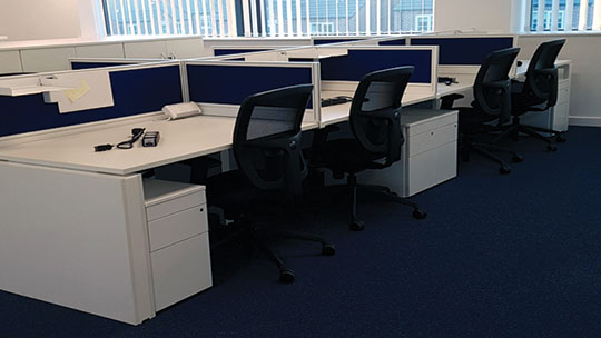 SNF Desking and Seating